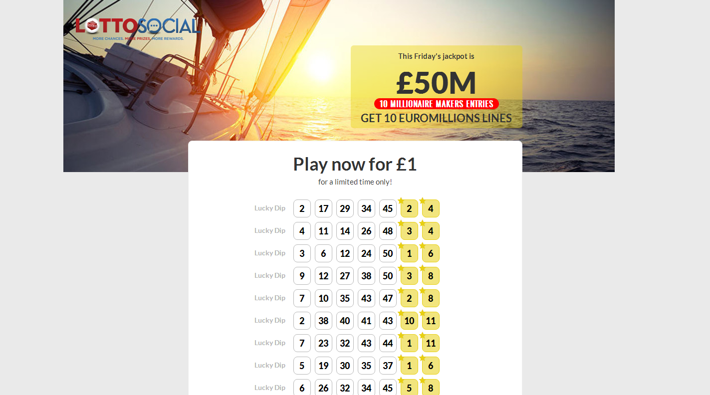 Euromillions Lottery Promotion